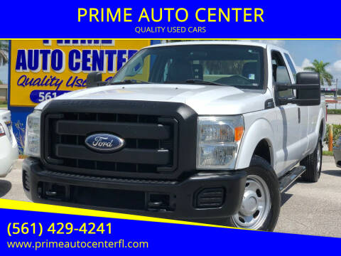 2012 Ford F-250 Super Duty for sale at PRIME AUTO CENTER in Palm Springs FL