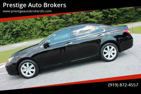 2009 Lexus ES 350 for sale at Prestige Auto Brokers in Raleigh NC