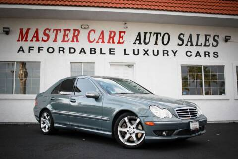 2007 Mercedes-Benz C-Class for sale at Mastercare Auto Sales in San Marcos CA