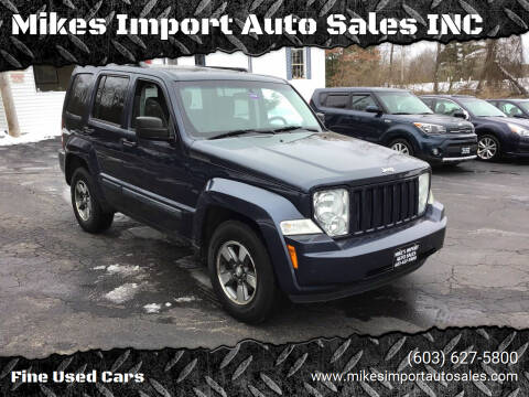 2008 Jeep Liberty for sale at Mikes Import Auto Sales INC in Hooksett NH