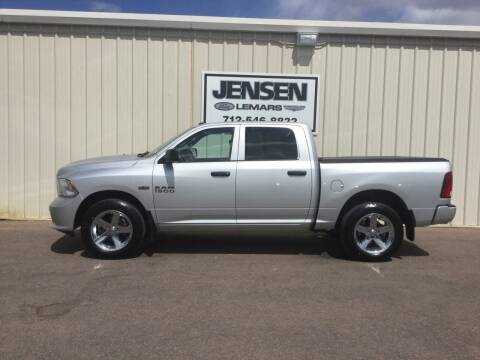 2018 RAM Ram Pickup 1500 for sale at Jensen's Dealerships in Sioux City IA