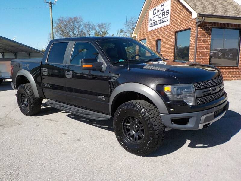 2014 Ford F-150 for sale at C & C MOTORS in Chattanooga TN