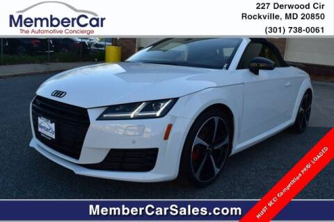 2018 Audi TT for sale at MemberCar in Rockville MD