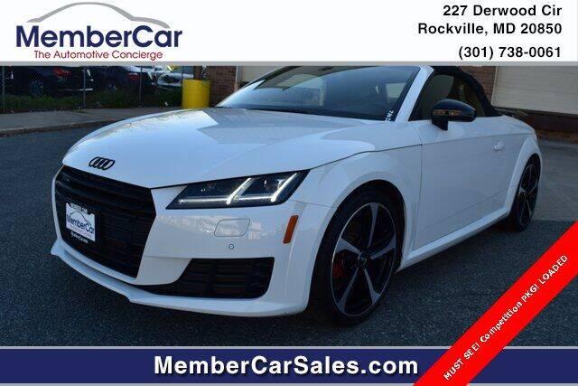 2018 Audi TT for sale in Rockville, MD