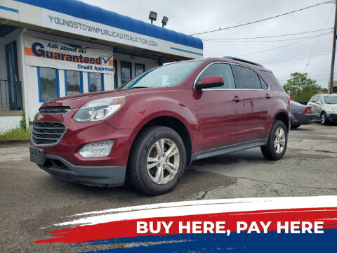 2016 Chevrolet Equinox for sale at E.L. Davis Enterprises LLC in Youngstown OH
