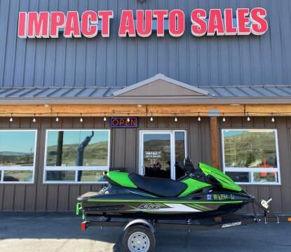 2016 Kawasaki stx-15 for sale at Impact Auto Sales in Wenatchee WA