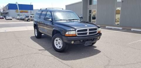 2002 Dodge Durango for sale at EXPRESS AUTO GROUP in Phoenix AZ
