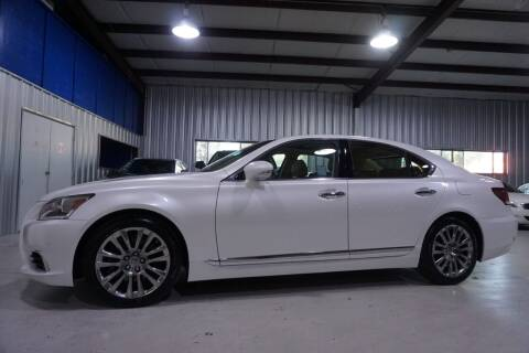 2017 Lexus LS 460 for sale at SOUTHWEST AUTO CENTER INC in Houston TX