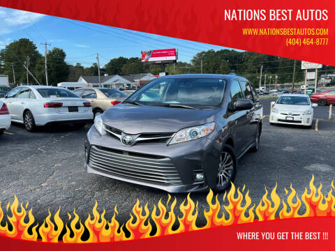 2020 Toyota Sienna for sale at Nations Best Autos in Decatur GA