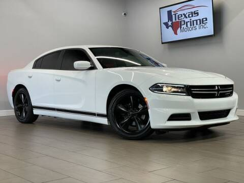 2015 Dodge Charger for sale at Texas Prime Motors in Houston TX