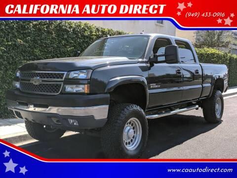 2005 Chevrolet Silverado 2500HD for sale at CALIFORNIA AUTO DIRECT in Costa Mesa CA
