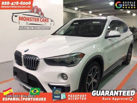 2016 BMW X1 for sale at Monster Cars in Pompano Beach FL