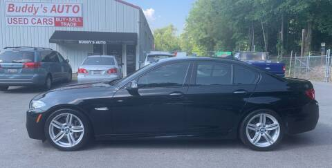 2014 BMW 5 Series for sale at Buddy's Auto Inc in Pendleton SC