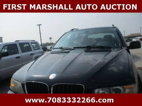 2004 BMW X5 for sale at First Marshall Auto Auction in Harvey IL