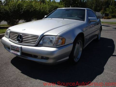 1998 Mercedes-Benz SL-Class for sale at Source Auto Group in Lanham MD