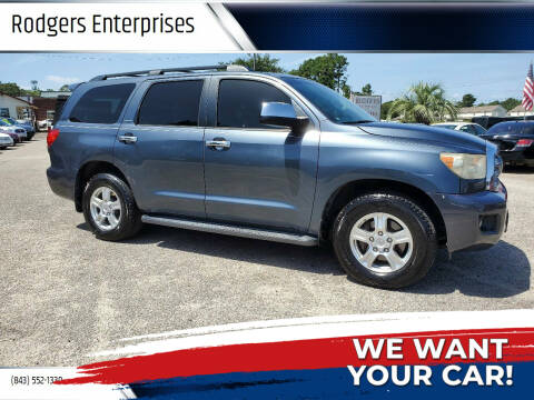 2008 Toyota Sequoia for sale at Rodgers Enterprises in North Charleston SC