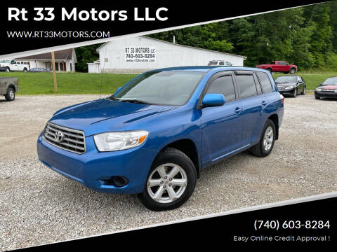 2008 Toyota Highlander for sale at Rt 33 Motors LLC in Rockbridge OH