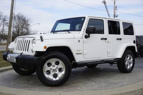 2014 Jeep Wrangler Unlimited for sale at Platinum Motors LLC in Heath OH