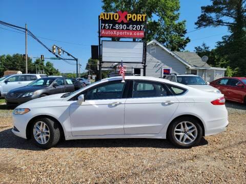 2015 Ford Fusion for sale at Autoxport in Newport News VA