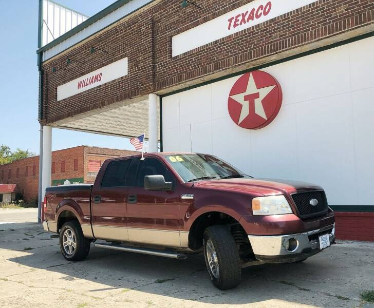 2006 Ford F-150 for sale at ANDERSON MOTORCARS in Okemah OK