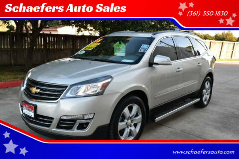 2016 Chevrolet Traverse for sale at Schaefers Auto Sales in Victoria TX