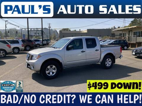 2012 Nissan Frontier for sale at Paul's Auto Sales in Eugene OR