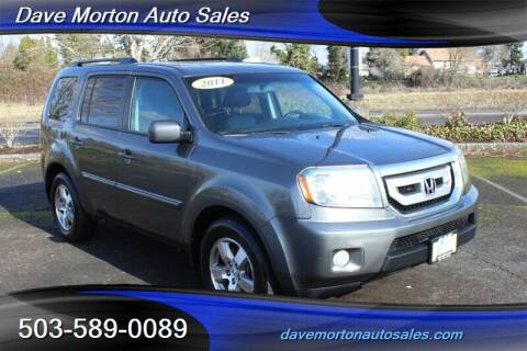 2011 Honda Pilot for sale at Dave Morton Auto Sales in Salem OR