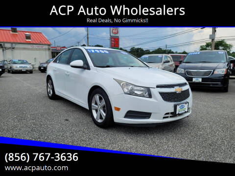 2013 Chevrolet Cruze for sale at ACP Auto Wholesalers in Berlin NJ