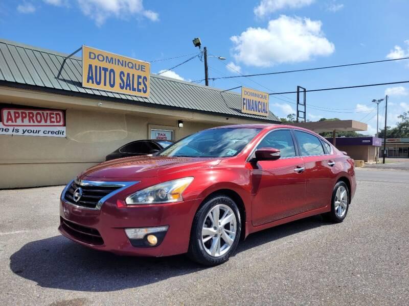 2013 Nissan Altima for sale at Dominique Auto Sales in Opelousas LA