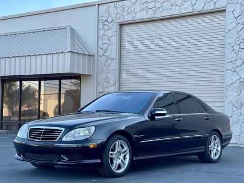 2003 Mercedes-Benz S-Class for sale at AutoAffari LLC in Sacramento CA