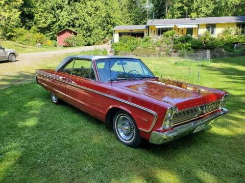 1966 Plymouth Fury for sale at Classic Car Deals in Cadillac MI