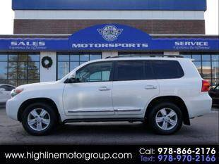 2013 Toyota Land Cruiser for sale at Highline Group Motorsports in Lowell MA