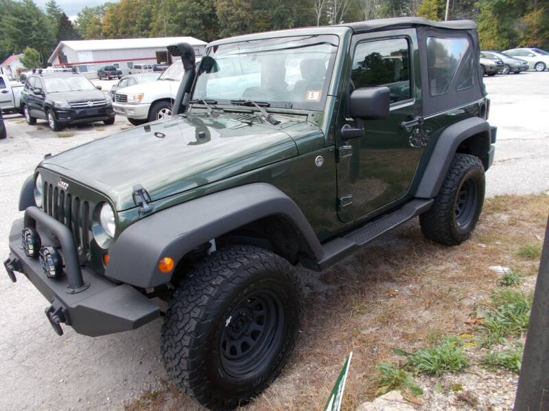 2008 Jeep Wrangler for sale at Manchester Motorsports in Goffstown NH