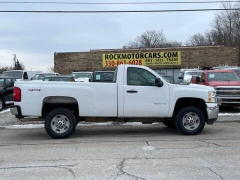 2012 Chevrolet Silverado 2500HD for sale at ROCK MOTORCARS LLC in Boston Heights OH