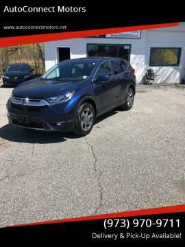 2018 Honda CR-V for sale at AutoConnect Motors in Kenvil NJ