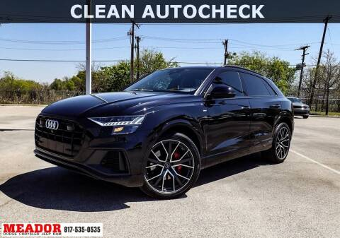 2019 Audi Q8 for sale at Meador Dodge Chrysler Jeep RAM in Fort Worth TX
