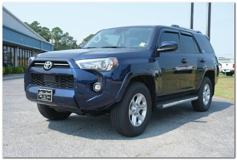 2021 Toyota 4Runner for sale at STRICKLAND AUTO GROUP INC in Ahoskie NC