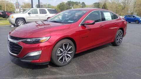 2021 Chevrolet Malibu for sale at Whitmore Chevrolet in West Point VA