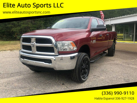 2013 RAM Ram Pickup 2500 for sale at Elite Auto Sports LLC in Wilkesboro NC