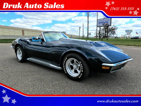 1970 Chevrolet Corvette for sale at Druk Auto Sales in Ramsey MN