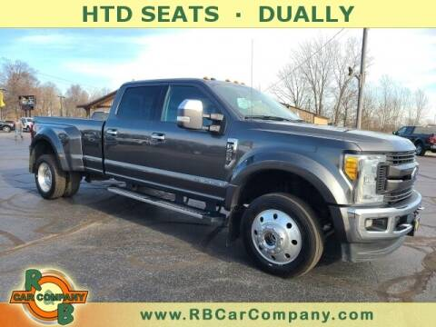 2017 Ford F-450 Super Duty for sale at R & B CAR CO - R&B CAR COMPANY in Columbia City IN