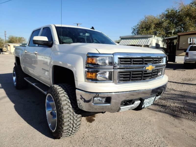 2015 Chevrolet Silverado 1500 for sale at Monaco Auto Center LLC in El Paso TX