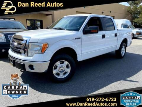 2012 Ford F-150 for sale at Dan Reed Autos in Escondido CA