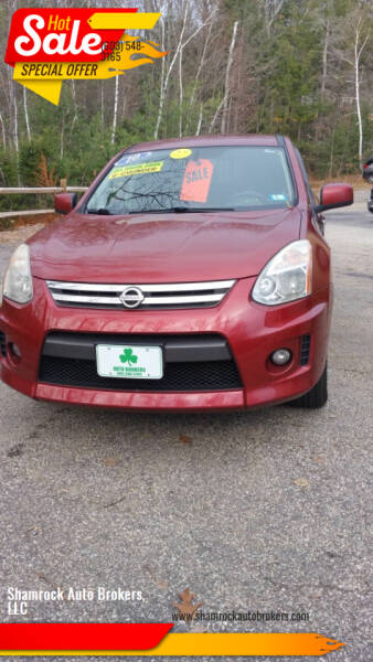 2010 Nissan Rogue for sale at Shamrock Auto Brokers, LLC in Belmont NH