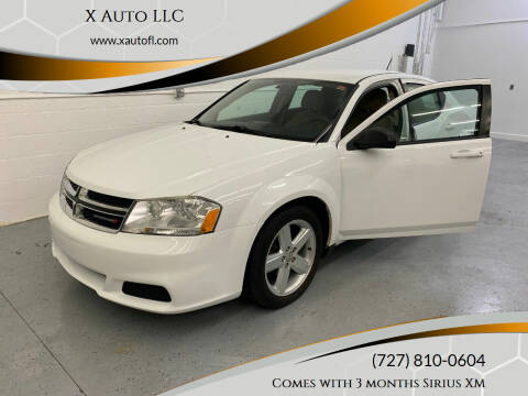 2013 Dodge Avenger for sale at X Auto LLC in Pinellas Park FL