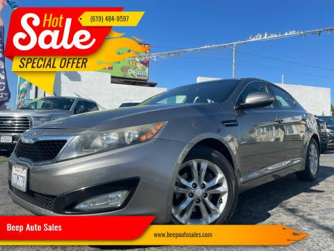 2012 Kia Optima for sale at Beep Auto Sales in National City CA