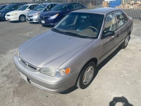 1999 Toyota Corolla for sale at 101 Auto Sales in Sacramento CA
