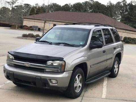 2002 Chevrolet TrailBlazer for sale at Two Brothers Auto Sales in Loganville GA