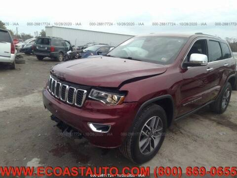 2020 Jeep Grand Cherokee for sale at East Coast Auto Source Inc. in Bedford VA