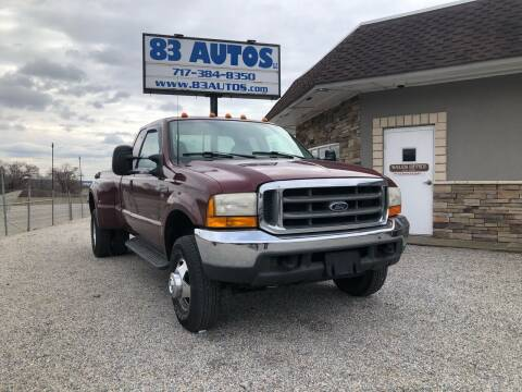 2000 Ford F-350 Super Duty for sale at 83 Autos in York PA
